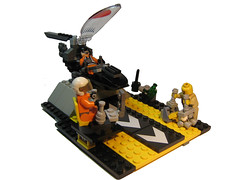 Valerim Hanger Bay (BWJCLego) Tags: training plane bay fighter lego hangar virtual scifi standard janitor trainee moc vsf valerim