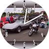 Harold's Corvette & Harley