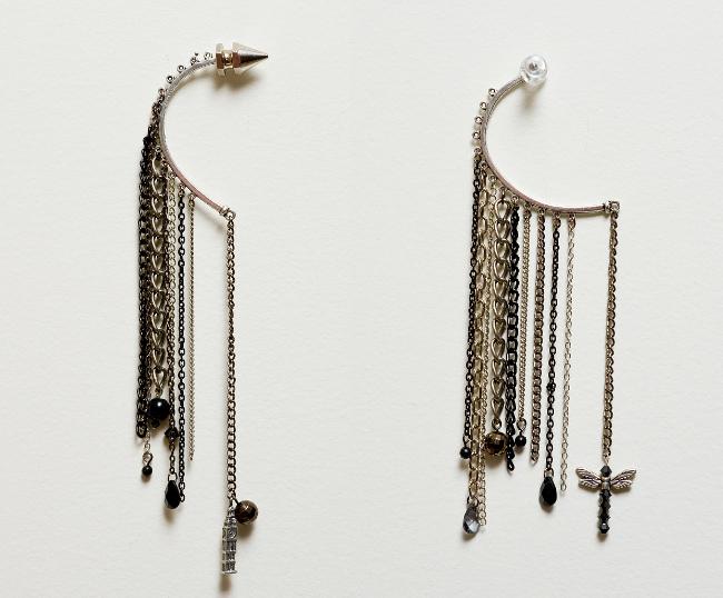 Fashion Infusion chain earwear 1