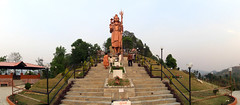World's tallest statue of Lord Shiva (Basu Dahal) Tags: park sculpture shiva sangha bhaktapur mahadev