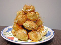 croquembouche03 (invisiblecompany) Tags: birthday food chicago dessert baking homemade 2010 croquembouche profiteroles