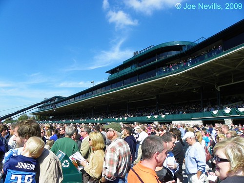 Keeneland Grandstand, Fall 2009 - After