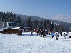 Combloux resort (girolame) Tags: snow ski alps neige combloux