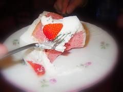 草苺鮮奶油