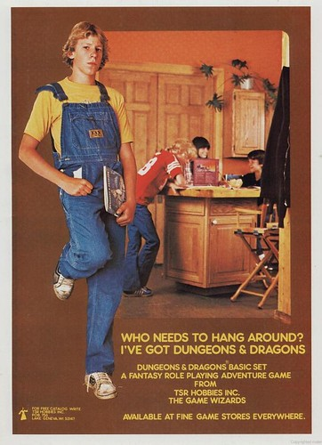 Despite my appearance and tendencies, I was never a fan of Dungeons and Dragons. Believe it or not.