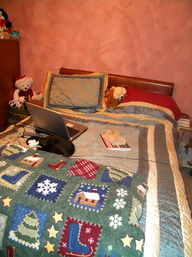 My Bed in Winter Mode