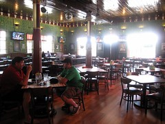 thisrty dog tavern - interior