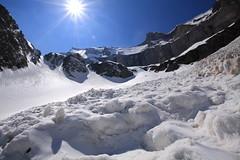 front de l'avalanche (m-idre31) Tags: france montagne neige avalanches hautespyrnes aragnouet gypatebarbu randonneraquettes murailledebarroude valledelagla refugedebarroude picgerbats picdelagla parcnationnaldespyrnes saxifragesafeuillesopposes