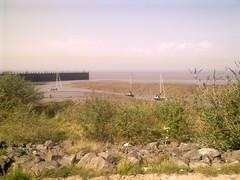 Portishead Pier Mud & Pollution