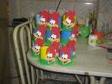 pica pau (lollyart) Tags: eva biscuit infantil casamento enfeites festas maternidade lembrancinhas