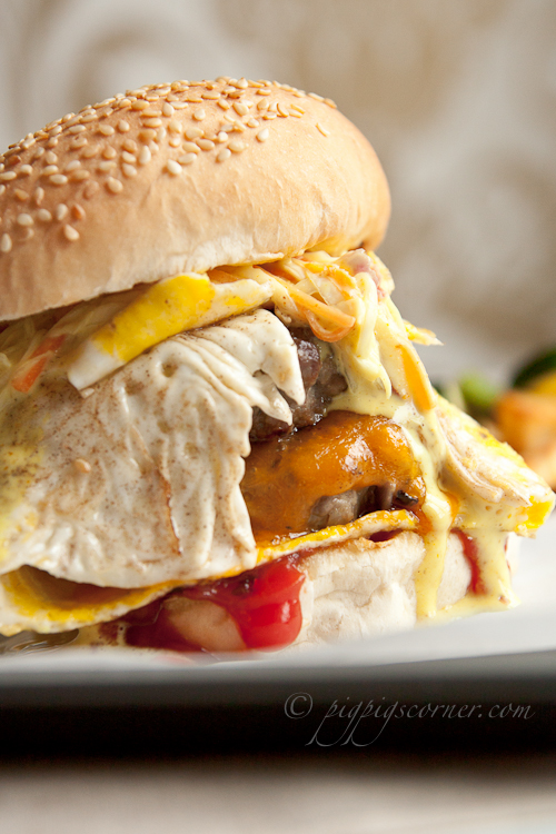 Ramly-style burger