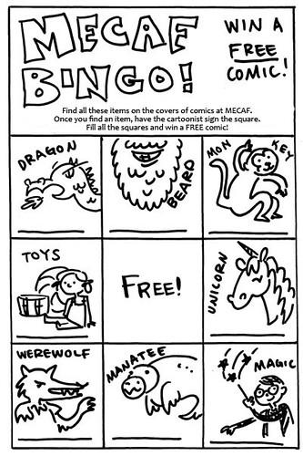 MECAF Bingo