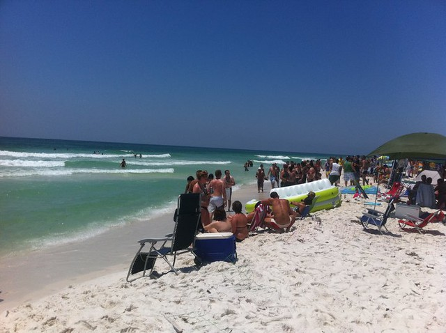 memorial day at Pensacola Beach