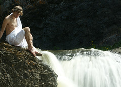 The Fall of Troy (Brad.Wagner) Tags: greek waterfall roman sandals 365