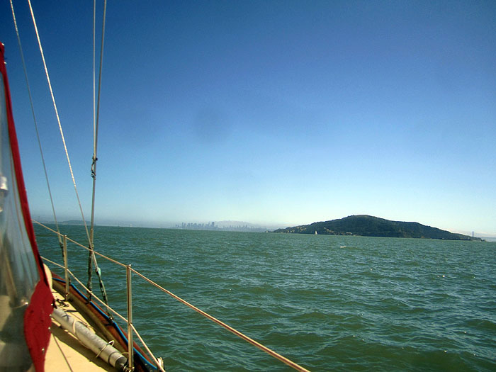 Approaching Angel Island