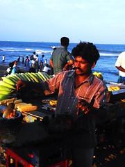 masala corn at chennai (bad company.) Tags: india marinabeach chennai