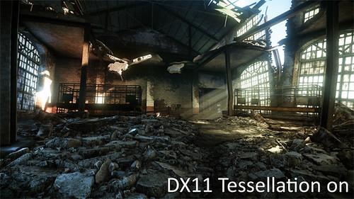 DX 11 Tessellation On