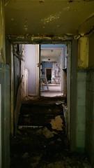 Asylum 'GR' (Michelle O'Connell Photography) Tags: asylum abandonedasylum sanitorium mentalinstitute mentalhospital abandonedhospital hospitalcorridor corridor derelict derelicthospital derelictbuilding michelleoconnellphotography