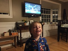 """Paul Watching Game 1 of the 2016 World Series • <a style=""""font-size:0.8em;"""" href=""""http://www.flickr.com/photos/109120354@N07/32298279333/"""" target=""""_blank"""">View on Flickr</a>"""