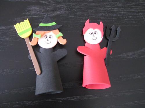 萬聖節指偶(Halloween finger puppet)