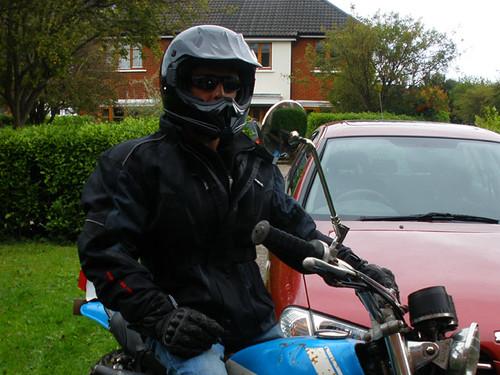 New biker coat