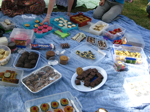 Kathleen's sweet tooth picnic