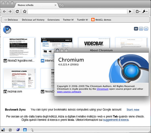 Mac Chromium 4.0.223.4 (29381) - update