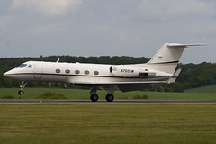 N750SW - 338 - Private - Gulfstream III - Luton - 090520 - Steven Gray - IMG_2830