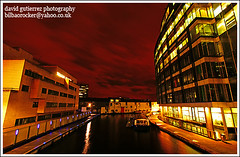 London in a Red Night Dress - Paddington Basin (david gutierrez [ www.davidgutierrez.co.uk ]) Tags: city red urban building london architecture night buildings dark spectacular geotagged photography photo arquitectura cityscape dress darkness image dusk sony centre cities cityscapes center structure basin architectural nighttime 350 londres architektur nights paddington sensational metropolis alpha londra impressive dt nightfall municipality edifice gbr cites londonist paddingtonbasin britishwaterways londonbylondoners f4556 1118mm grandjunctioncanal londoninarednightdress sonyalphadt1118mmf4556 sony350dslra350