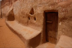 (680) Balad - Dorf aus Lehm (avalon20_(mac)) Tags: africa travel sahara nature geotagged desert egypt oasis 500 misr eos40d schulzaktivreisen