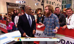 Thomas Shahan (and a Salticid) on NBC's The Today Show! (Thomas Shahan) Tags: show news halloween television nbc spider tv al jumping spiders thomas arachnid national segment jumper today interview appearance roker macrophotography shahan salticidae