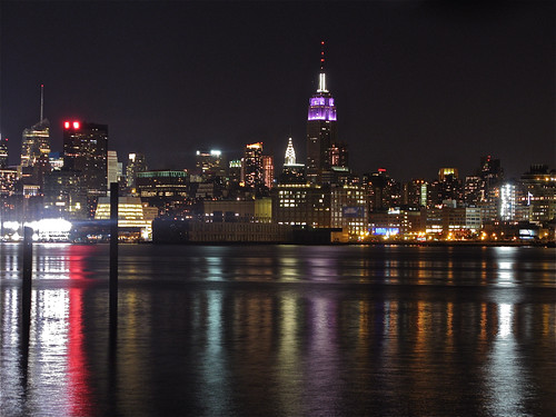 Skyline from Hoboken