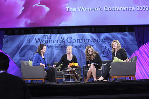 Maria Shriver, Elizabeth Edwards, Susan Saint James, Lisa Niemi