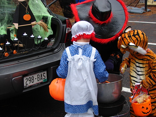 Trunk or Treat at Church