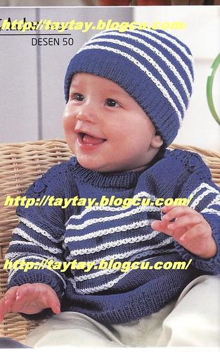 4083490447 8d7714cbb3 çizgili bebek kazak ve bere anlatımı