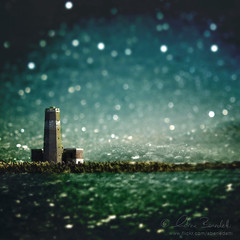 midnight in minsk () Tags: sea sky italy lighthouse snow rome roma texture andy water glass photoshop ball landscape faro rocks italia mare bokeh andrea magic andrew powder vision fantasy cielo fantasia neve layers tempest wonderland blizzard acqua paesaggio fiumicino scogli tiltshift benedetti nikond90