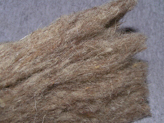 Sheepswool insulation Copyright Shadokat GNU Free Documwtation licence