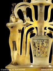 The Alabaster Perfume Vase - Hapy: The God of the River Nile (Sandro Vannini) Tags: art archaeology photography video kingtut egypt artefact calcite tutankhamun egyptology hapy egyptians unguents kv62 heritagekey sandrovannini alabasterperfumevase perfumedfats