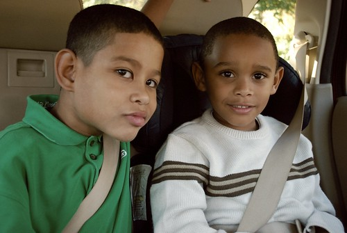 Elijah and TJ