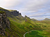 We are small (Dani℮l) Tags: uk summer mountain holiday green landscape volcano islands scotland isleofskye daniel hill portree lotte faraway d300 trotternish quiraing storr flodigarry itwasntraining wearesmall brogaig