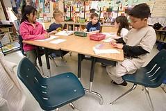 diverse school kids (by: Margot Pepper for Urban Habitat)