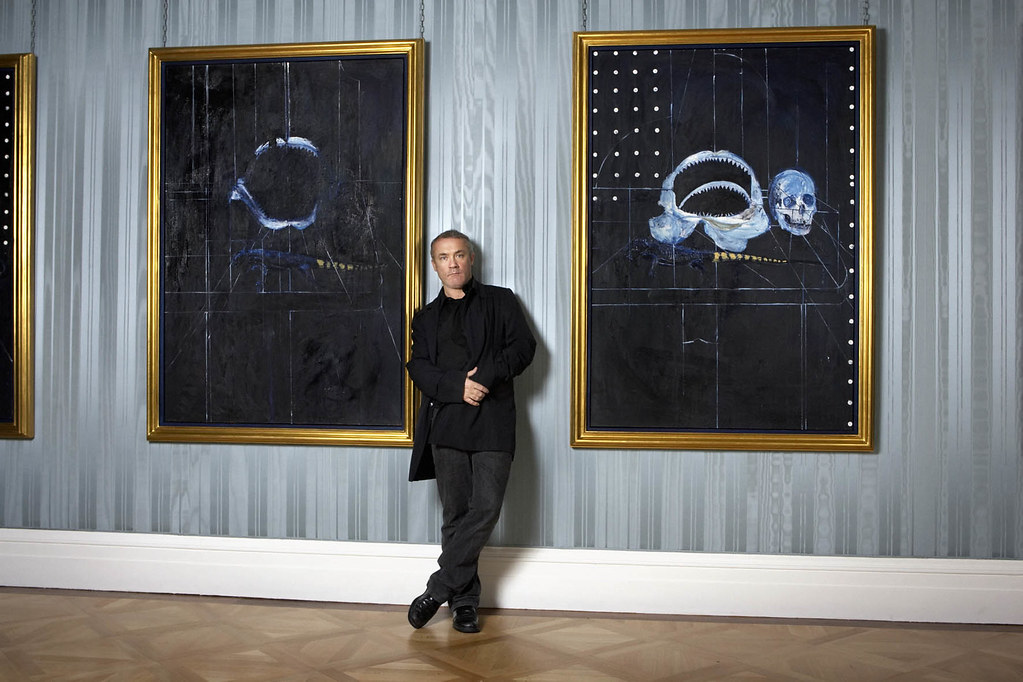 No Love Lost Damien Hirst Faces The Old Masters The Rumpus Net