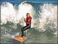 On the wave (Baltasar MT) Tags: barcelona sea mar surfer wave surfing barceloneta sur ola onada surfbarcelona
