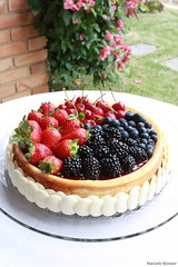Berries & Ricotta Cheesecake (Marcelo Monser) Tags: cheese postre de dessert cheesecake queijo bolo ricotta sobremesa feitoemcasa redfruits hechoencasa ricota madeathome frutasvermelhas marcelomonser chefmonser