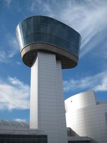 Observation tower at Udvar-Hazy