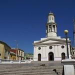 Valparaíso: Atrio de la Iglesia la Matriz