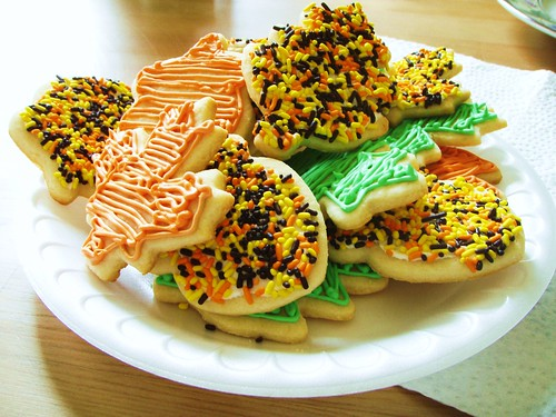 autumn sugar cookies - 06