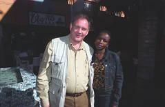South African Friends Pauline Time Square Yeoville Johannesburg June 2002 001 mgs (photographer695) Tags: south african friends girls beautiful fun pauline time square yeoville johannesburg june 2002