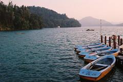 臨晚的寧靜湖, Evening Peace Lake