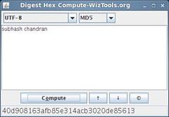 Digest Hex Compute-WizTools.org